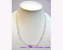 Clear Quartz Necklace  สร้อยคอควอตซ์ใส [11108]