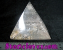 Clear Quartz Pyramid / หินทรงปิรามิดควอตซ์ใส [12119804]