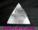Clear Quartz Pyramid / หินทรงปิรามิดควอตซ์ใส [12119809]