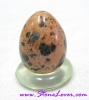 Dalmatian Jasper Egg Shape / หินทรงไข่ดัลเมเชี่ยน แจสเปอร์ [7258
