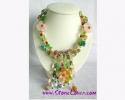 Fancy Stone Necklace / สร้อยคอหินแฟนซี [10081]