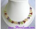 Fancy Stone Necklace / สร้อยคอหินแฟนซี [10095]