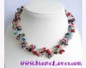 Fancy Stone Necklace / สร้อยคอหินแฟนซี [10098]