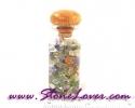 Fancy Stone in Glasses Bottle / หินเกล็ดในขวดแก้วแฟนซี[08012113]