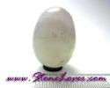 Fluorite Egg Shape / หินทรงไข่ฟลูออไรต์ [08011497]