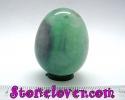 Fluorite Egg Shape / หินทรงไข่ฟลูออไรต์ [12119754]
