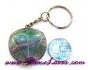 Fluorite Key Chain / พวงกุญแจฟลูออไรต์ [07121200]