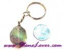 Fluorite Key Chain / พวงกุญแจฟลูออไรต์ [07121223]
