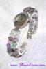 Fluorite Watch / นาฬิกาข้อมือฟลูออไรต์ [21850]