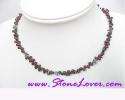 Garnet Necklace / สร้อยคอโกเมน [11901]