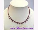 Garnet Necklace / สร้อยคอโกเมน [11911]