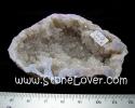 Geode Clear Quartz / หินถ้ำโพรงควอตซ์ใส [13030618]