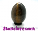 Hawk/s Eye Egg Shape / หินทรงไข่พลอยตาเหยี่ยว [12119751]