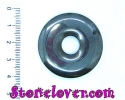 Hematite Donut Shape / หินนวด/สปา ทรงโดนัท เฮมาไทต์ [11129057]