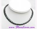 Hematite Necklace / สร้อยคอเฮมาไทต์ [12001]