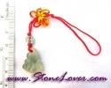 Jade Bag/Mobile Hanging / สายห้อยกระเป๋า/มือถือ หยก-ผักกาด [0901