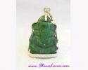 Jade Lord Ganesh Pendant / จี้พระพิฆเนศวร์หยก [32220]