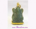 Jade Lord Ganesh Pendant / จี้พระพิฆเนศวร์หยก [32217]
