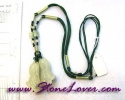 Jade Necklace / สร้อยคอหยก-ผักกาด [09026533]