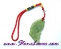 Jade / สายห้อยกระเป๋า/มือถือ หยก-ปลาคาร์ฟ[08011475]