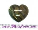 Jasper Heart Shape / หินทรงหัวใจแจสเปอร์ [08033666]