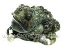 Labradorite Cut Shape / ลาบราโดไรต์-คางคกคาบเหรียญ [14031573]