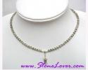 Labradorite Necklace / สร้อยคอลาบราโดไรต์ [14503]