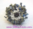 Lapis Lazuli Bangle / กำไลข้อมือลาพีส ลาซูลี [22426]