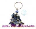 Lapis Lazuli Key Chain / พวงกุญแจลาพีส ลาซูลี่ [07121217]