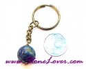 Lapis Lazuli Key Chain / พวงกุญแจลาพีส ลาซูลี่ [07121228]