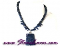 Lapis Lazuli Necklace / สร้อยคอลาพีส ลาซูลี่ [08033738]