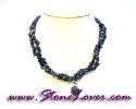 Lapis Lazuli Necklace / สร้อยคอลาพีส ลาซูลี่ [08054323]