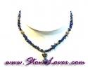 Lapis Lazuli Necklace / สร้อยคอลาพีส ลาซูลี่ [08065035]