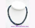 Lapis Lazuli Necklace / สร้อยคอลาพีส ลาซูลี่ [12402]