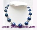 Lapis Lazuli Necklace / สร้อยคอลาพีส ลาซูลี่ [12418]