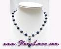 Lapis Lazuli Necklace / สร้อยคอลาพีส ลาซูลี่ [12419]