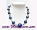 Lapis Lazuli Necklace /สร้อยคอลาพีส ลาซูลี่ [12417]