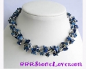Lapis Lazuli Necklace /สร้อยคอลาพีส ลาซูลี่ [12420]