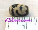 Lotus dZi Bead / หินทิเบตดอกบัว [00L016]