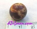 Lotus dZi Bead / หินทิเบตดอกบัว [00L024]