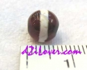 Medicine dZi Bead / หินทิเบตหมอยา [00M009]