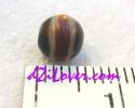 Medicine dZi Bead / หินทิเบตหมอยา [00M012]