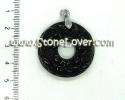 Obsidian Pendant / จี้อ็อบซิเดียน [13040737]