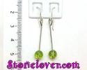 Peridot Earrings / ต่างหูเพริโดต์ [12049503]