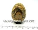 Picture Jasper  Egg Shape  / หินทรงไข่พิคเจอร์ แจสเปอร์ [1304077