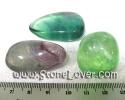 Polished Fluorite / หินขัดมันฟลูออไรต์ [13010397]
