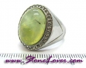 Prehnite Ring / แหวนพรีไนต์ [09056821]