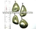 Pyrite Pendant / จี้ไพไรต์ [13061052]