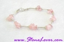 Rose Quartz Bracelet / สร้อยข้อมือโรส ควอตซ์ [23124]