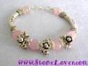 Rose Quartz Bracelet / สร้อยข้อมือโรส ควอตซ์ [23151]